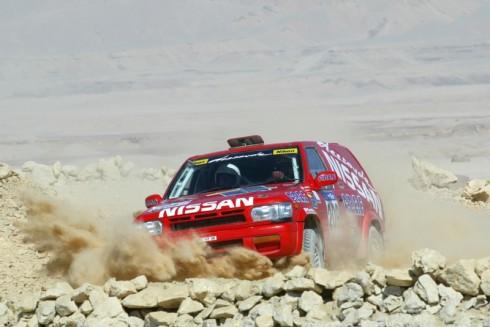 Rallye des Pharaons 2003 3/10/03 Leg: EL KARGA - BAHARIYA Mitsuhashi - Rey